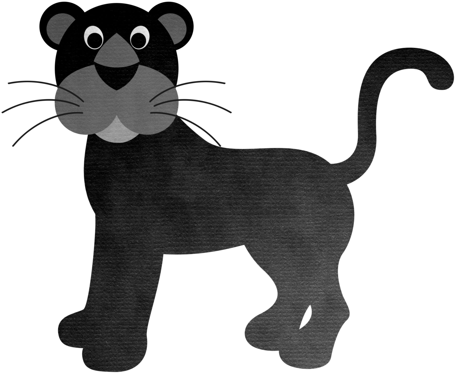 Drawing panther creative. Tiger whiskers lion black