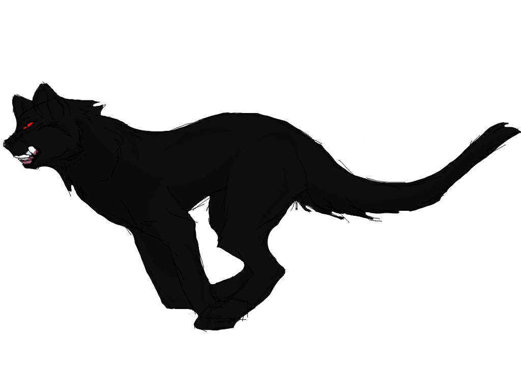 Drawing panther shaded. Bad by fullmetal thunder