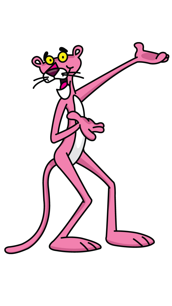 Dopey drawing easy. Pink panther tutorial cartoon
