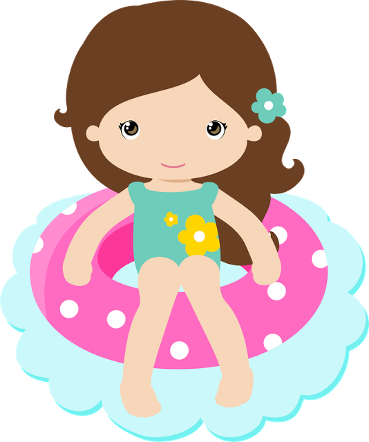 Drawing party pool. Praia piscina clipart pinterest