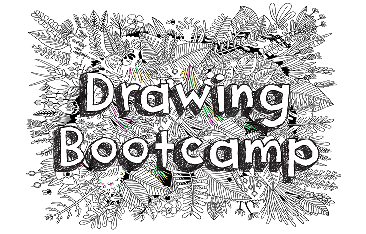Drawing party summer. Bootcamp jam