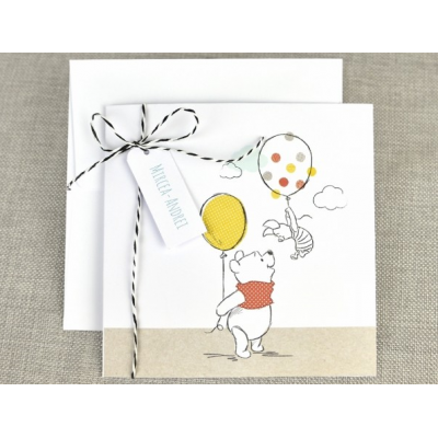 Drawing party winnie the pooh. With ballon karamel cyprus