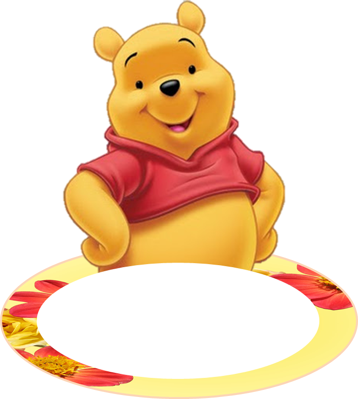 Drawing party winnie the pooh. Free ideas creative printables