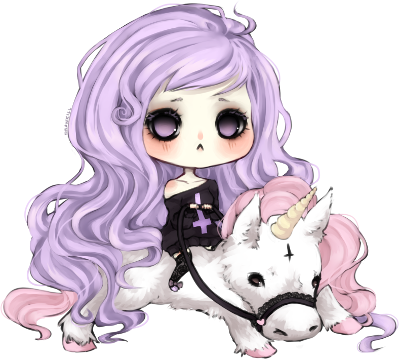 Drawing pastel unicorn. Gothic drawings browse more