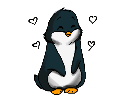 collection of penguin. Drawing penguins cute clip library