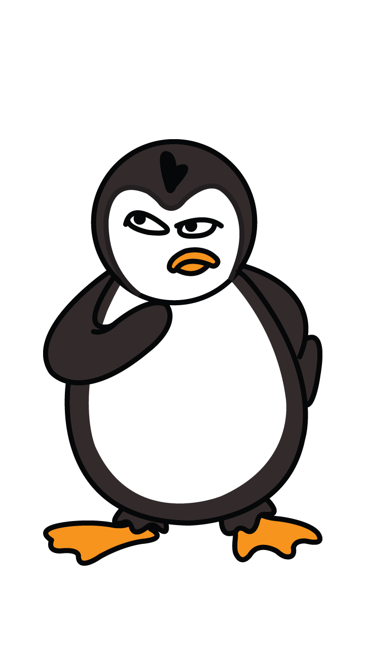How to draw a. Drawing penguins svg royalty free library