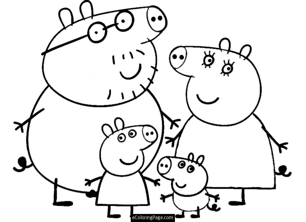 Drawing peppa pig. Free how to draw