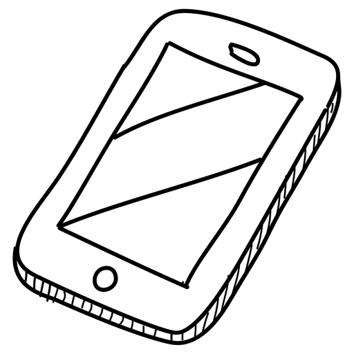 cellphone free download. Drawing icons transparent background clip black and white