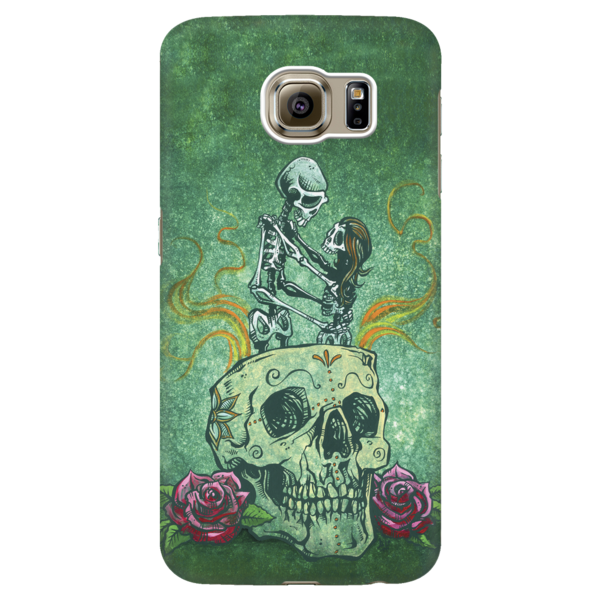 Drawing phone day. Amor eterno case by