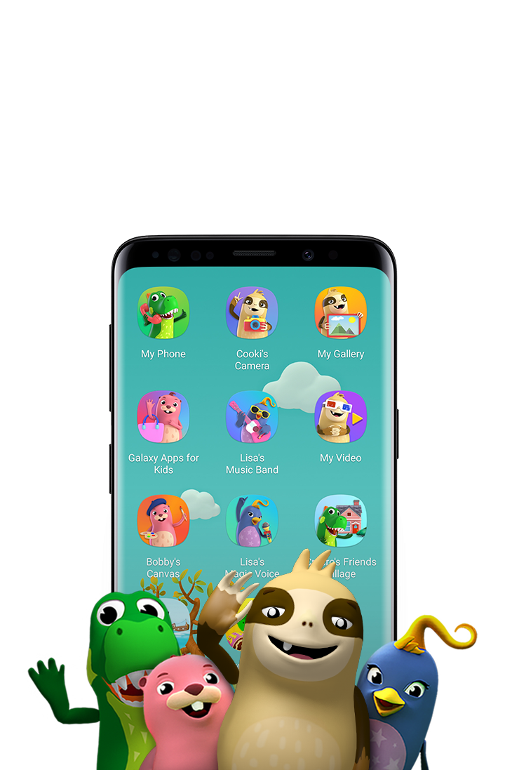 Drawing phone kid. Kids mode apps the