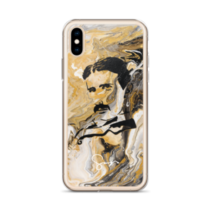 Drawing phone victorian. Marble tesla iphone x