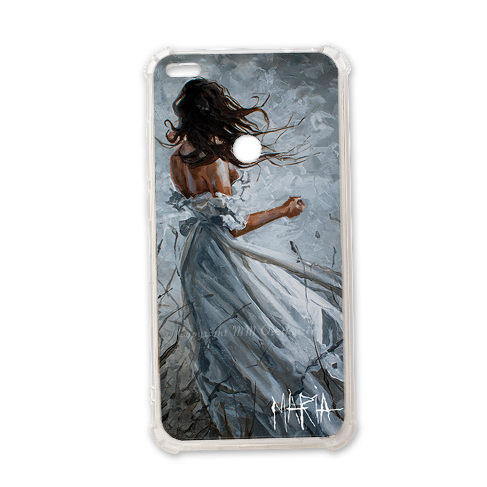 Drawing phone victorian. Cell cover shine with