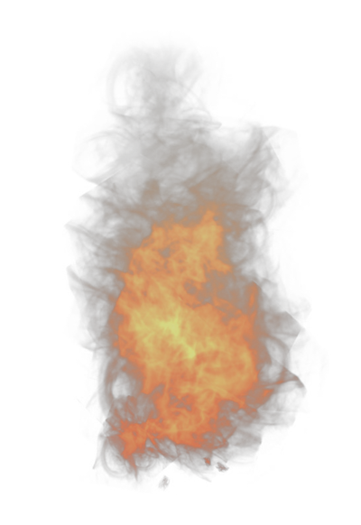 Drawing photoshop fire. Assets map overlays effects