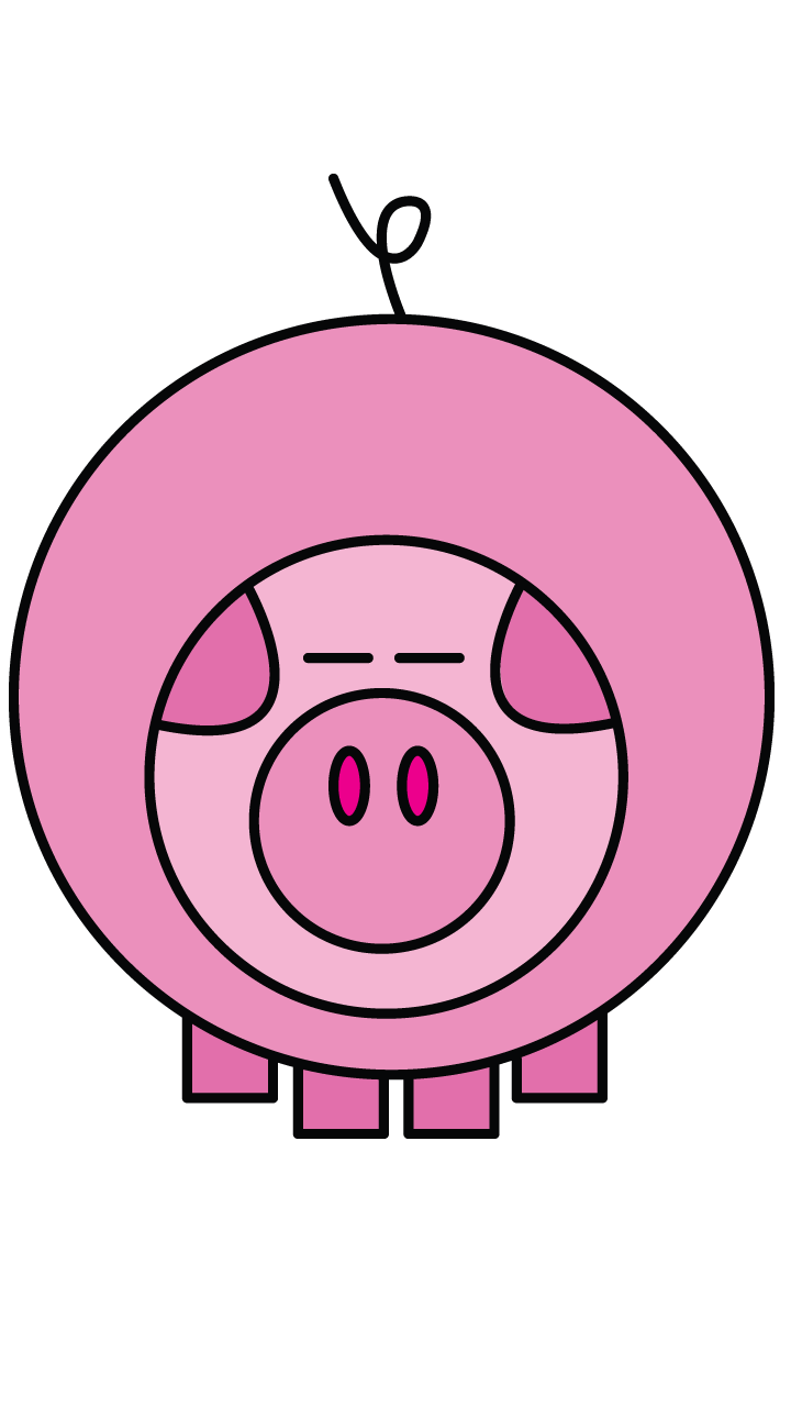Drawing pig. Pin by natalie on
