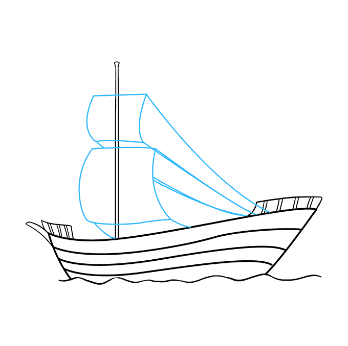 Drawing ships. How to draw a