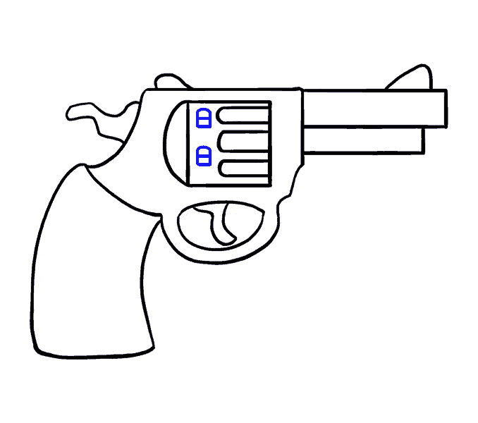 shooting drawing revolver