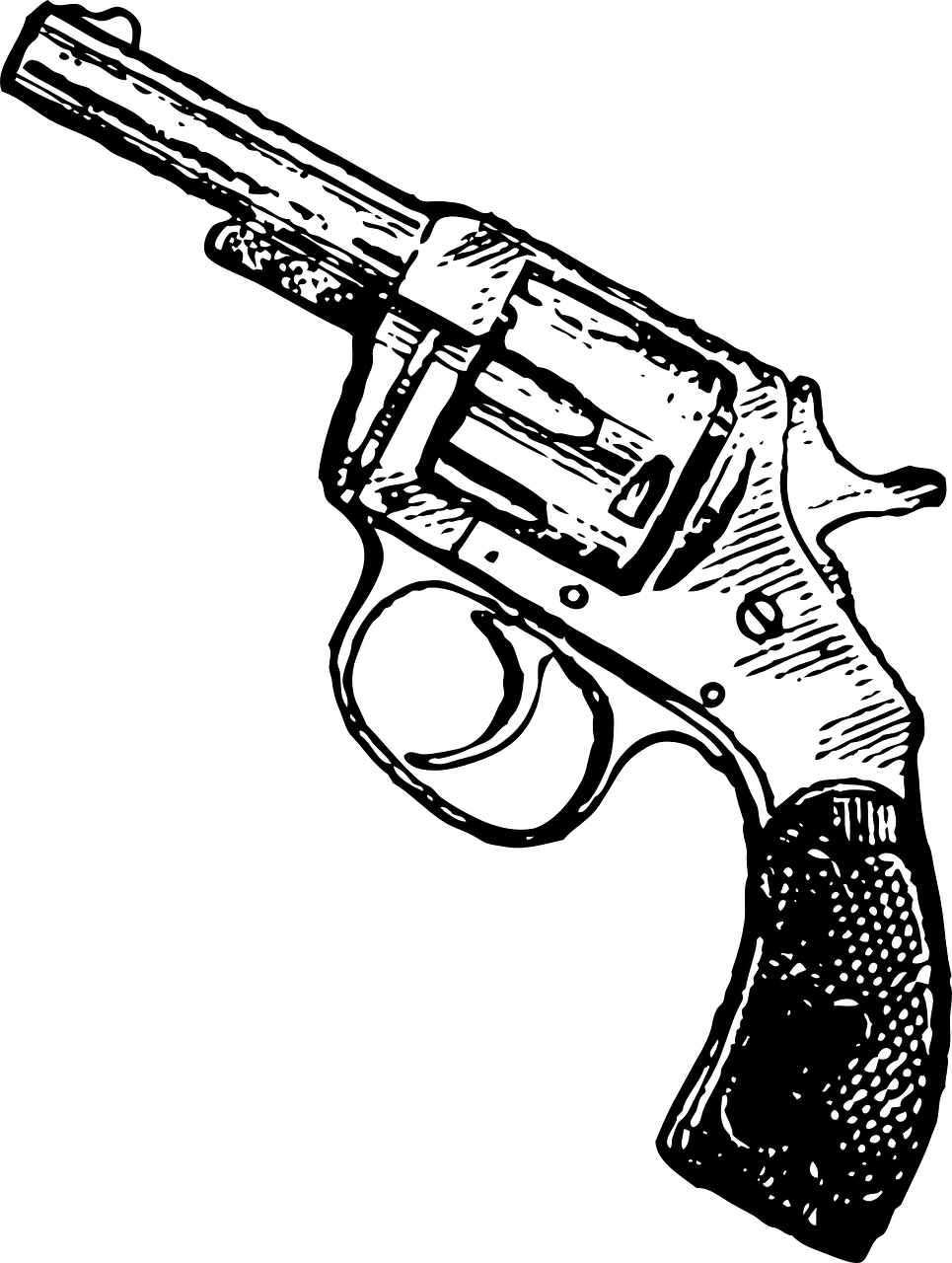 Latest drawing gun. Free image on pixabay