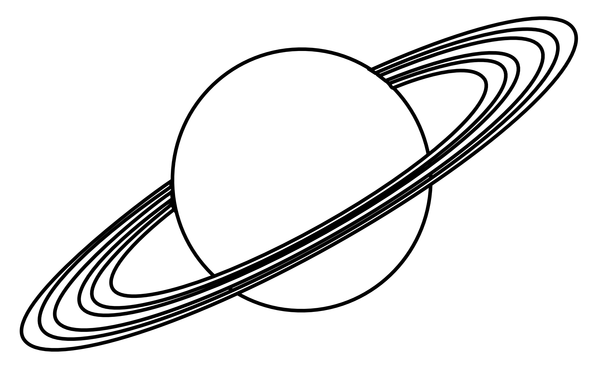 Drawing planets. Planet free download on