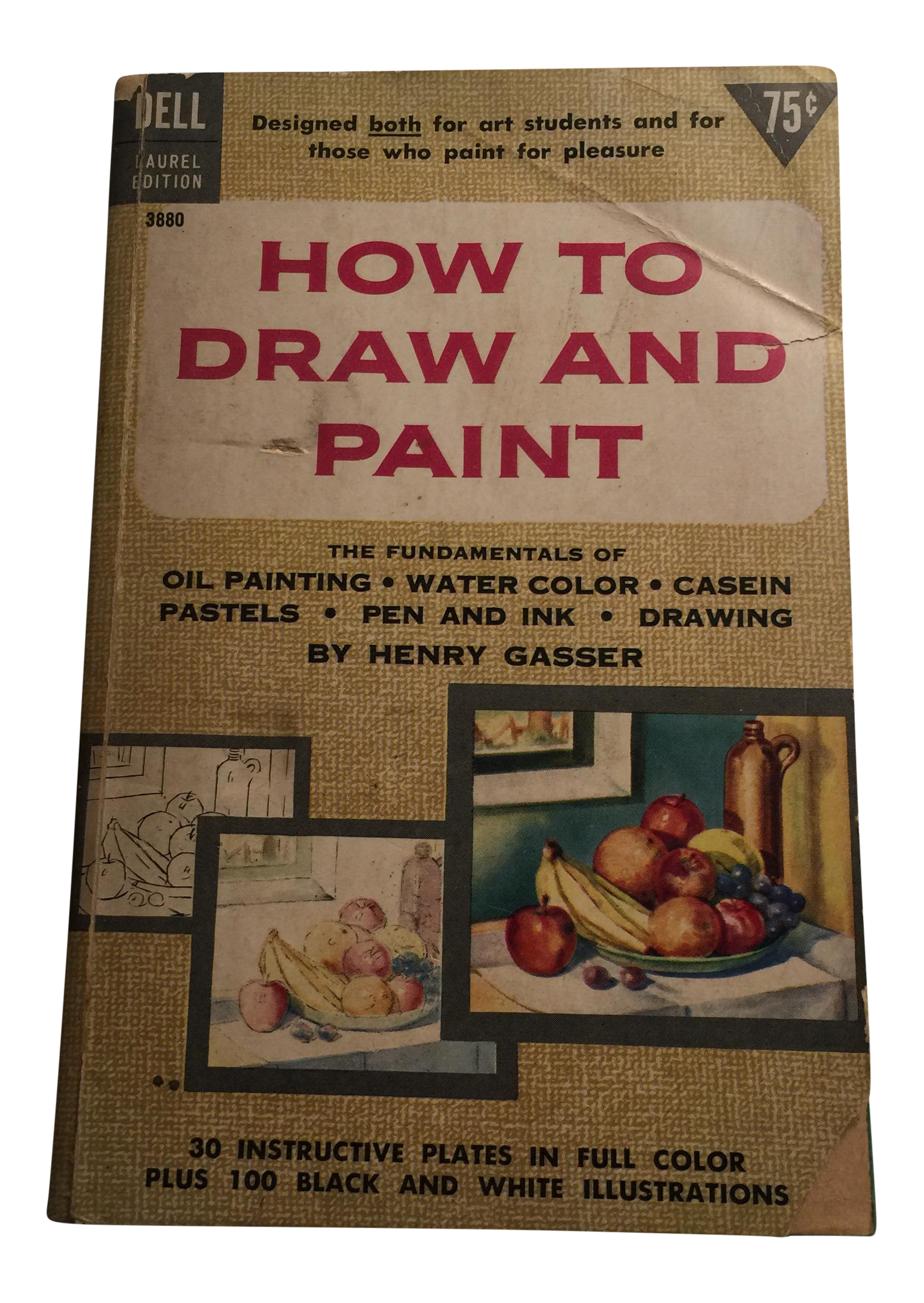 Laurel drawing ink. How to draw paint
