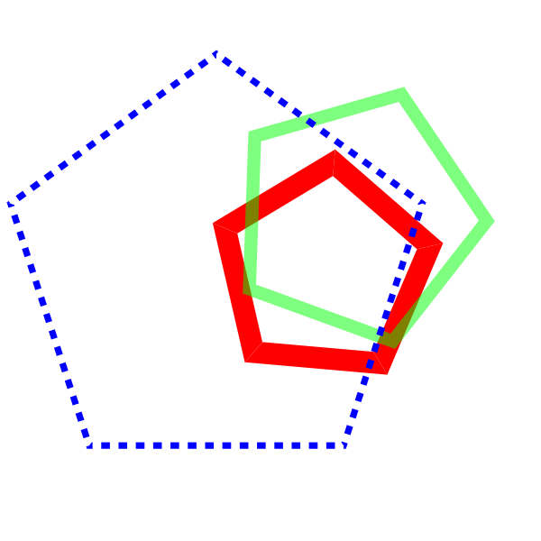Drawing polygon pentagon. Tutorial java tutorials codecall