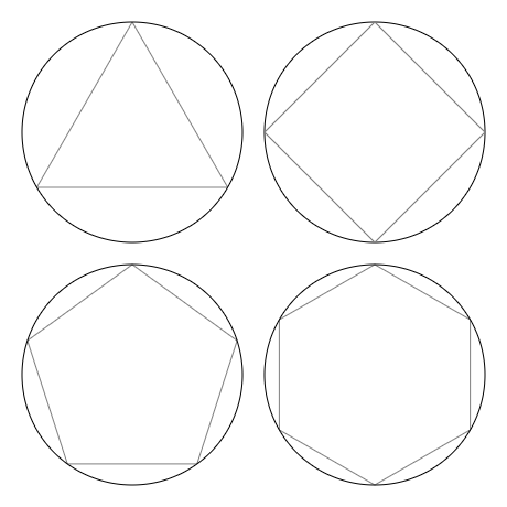 Polygons drawing. How you can draw