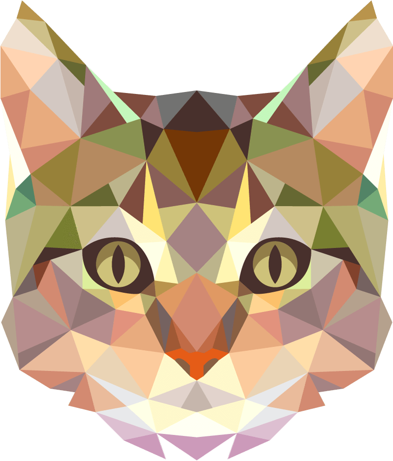 Drawing polygons cat. Https stickr com au