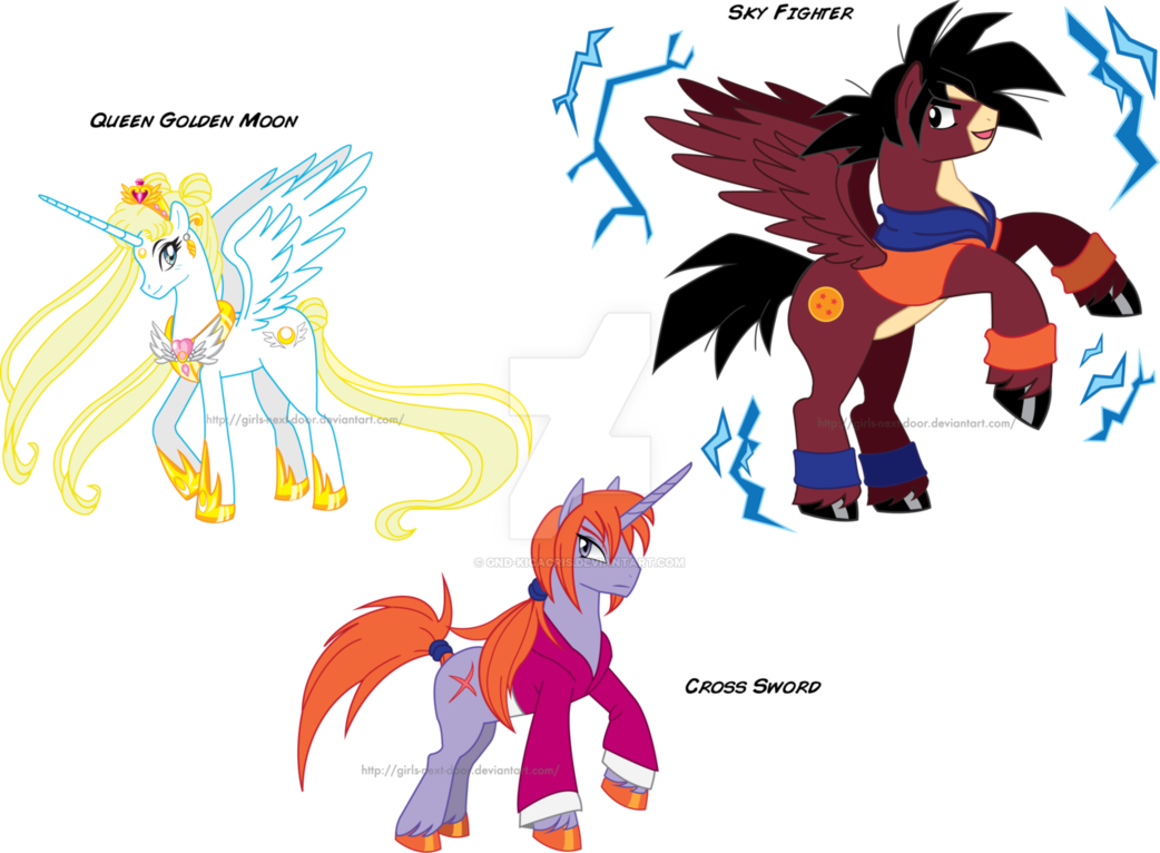 Drawing ponies anime. My little pony is