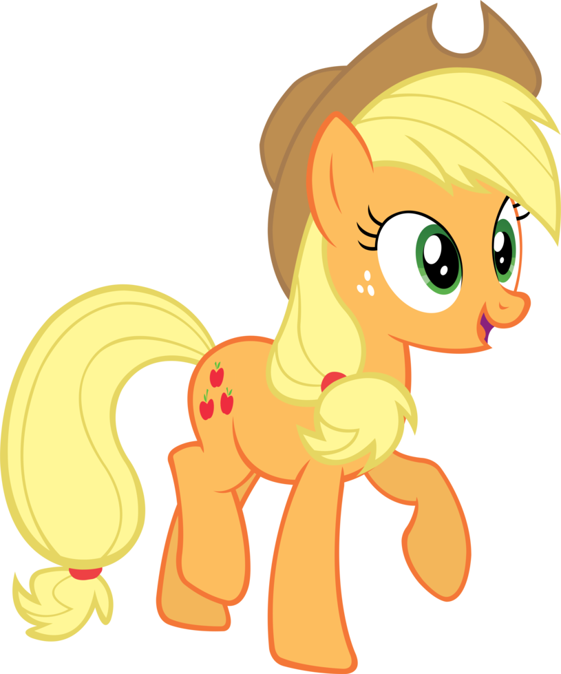 Room vector applejack. Art drawings for kids