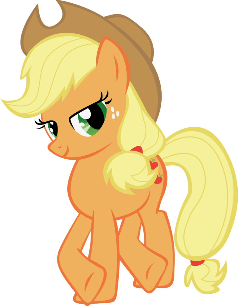 applejack drawing zombie