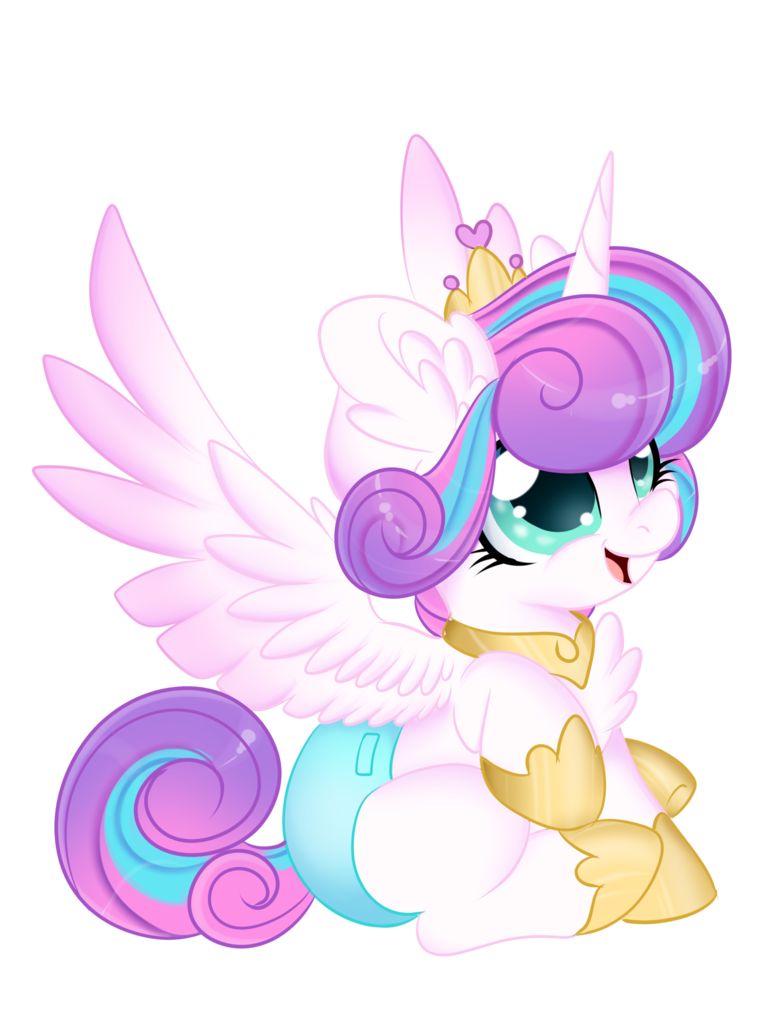 Drawing ponies flurry heart. Mlp princesses quick draw
