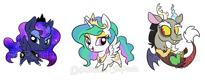 Luna celestia and by. Discord drawing cute picture freeuse download
