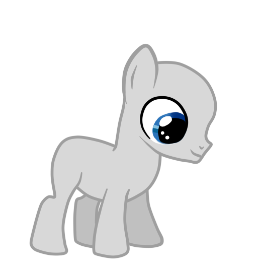 Drawing ponies male. Mlp bases filly base