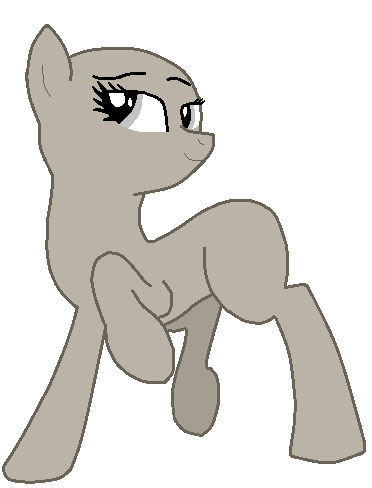 Drawing ponies poses. My little pony base