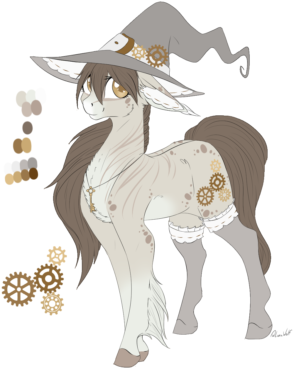 Drawing ponies reference. Artist lunawolf earth