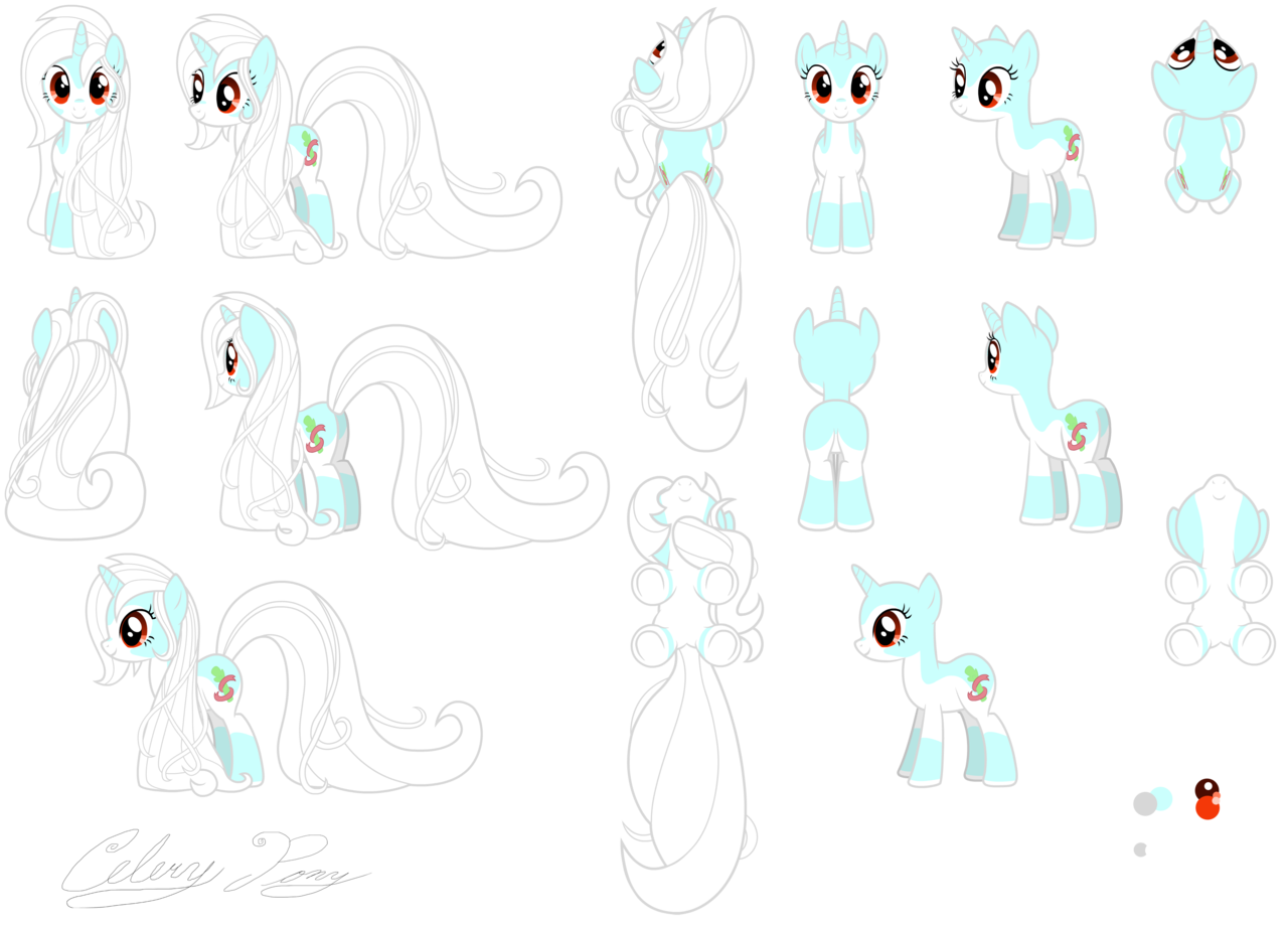 Drawing ponies reference. Cute hair little