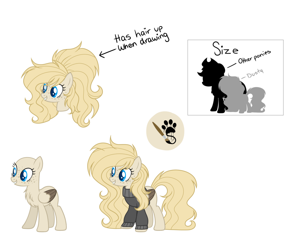 Drawing ponies reference. Artist mintoria clothes