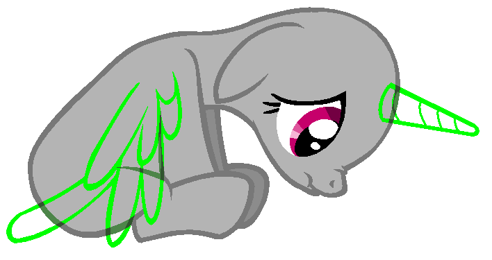 Drawing ponies sad. Bases favourites by lmelodyx