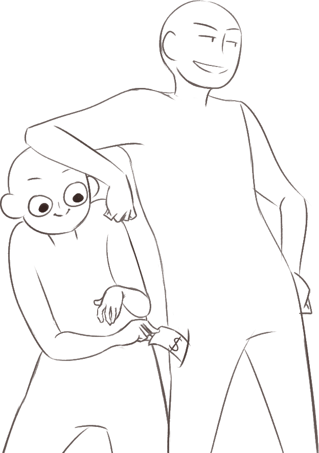 Drawing position shy. Draw your oc otp