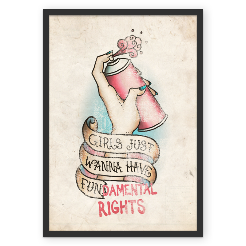 Drawing posters equality. Poster girls feminism pinterest
