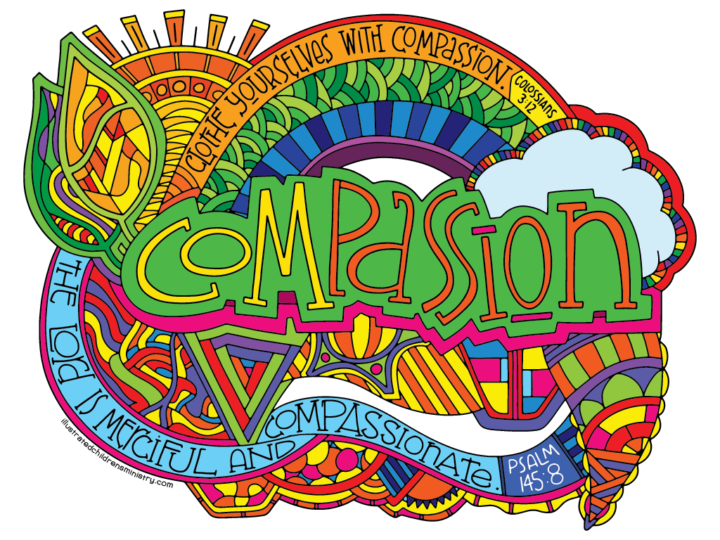 Drawing posters world peace. Illustrated compassion coloring children