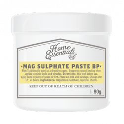 Drawing sab boils. Home essentials magnesium sulphate