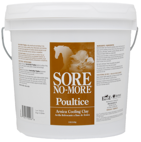 Drawing poultice epsom salt. Sore no more ultra