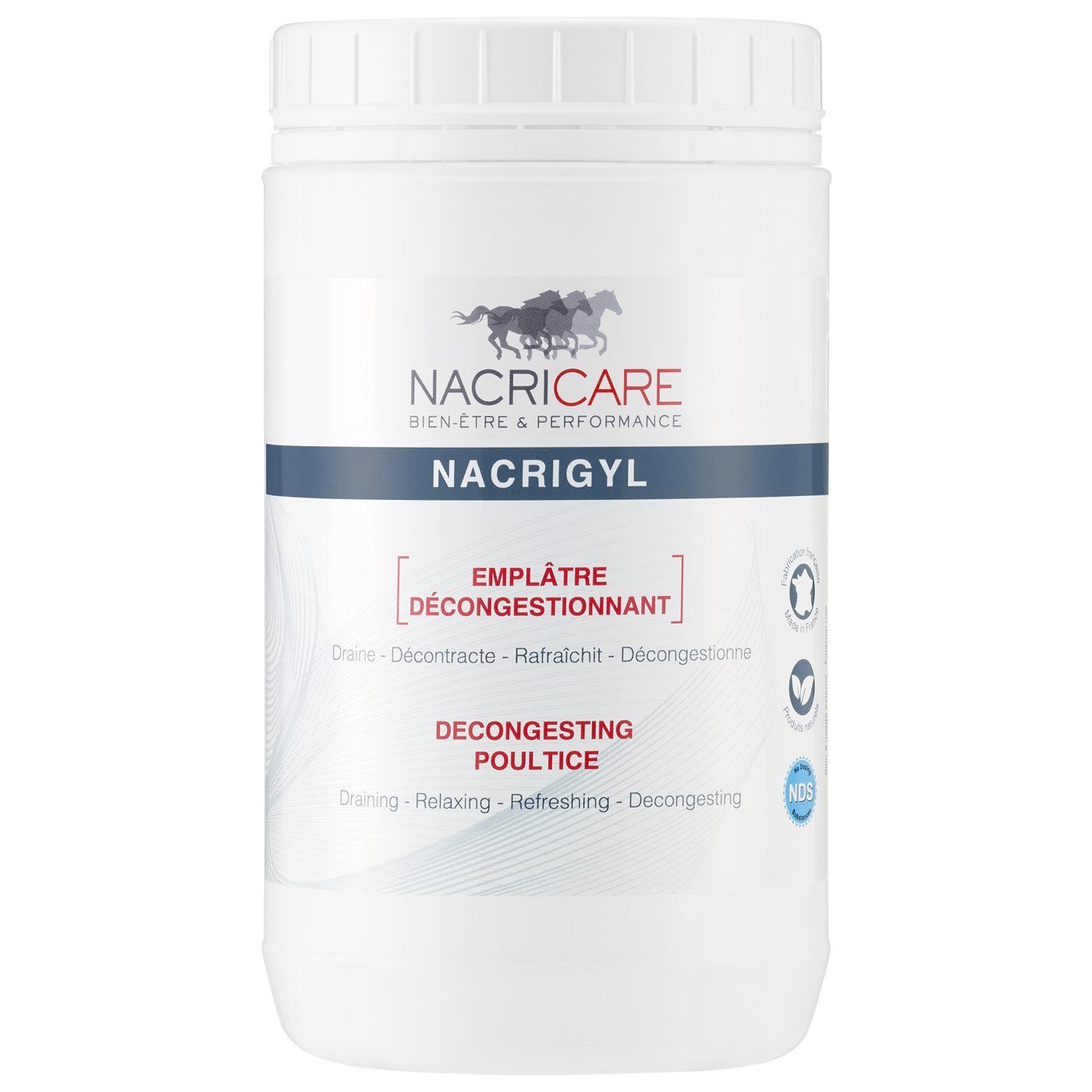 Drawing poultice horses. Nacrigyl nacricare liters horse