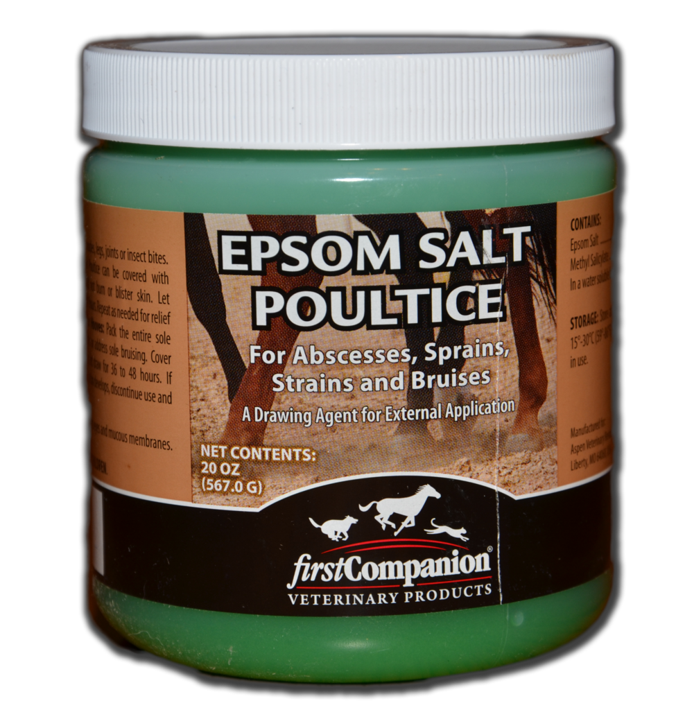 Drawing poultice. Epsom salts equimedic usa