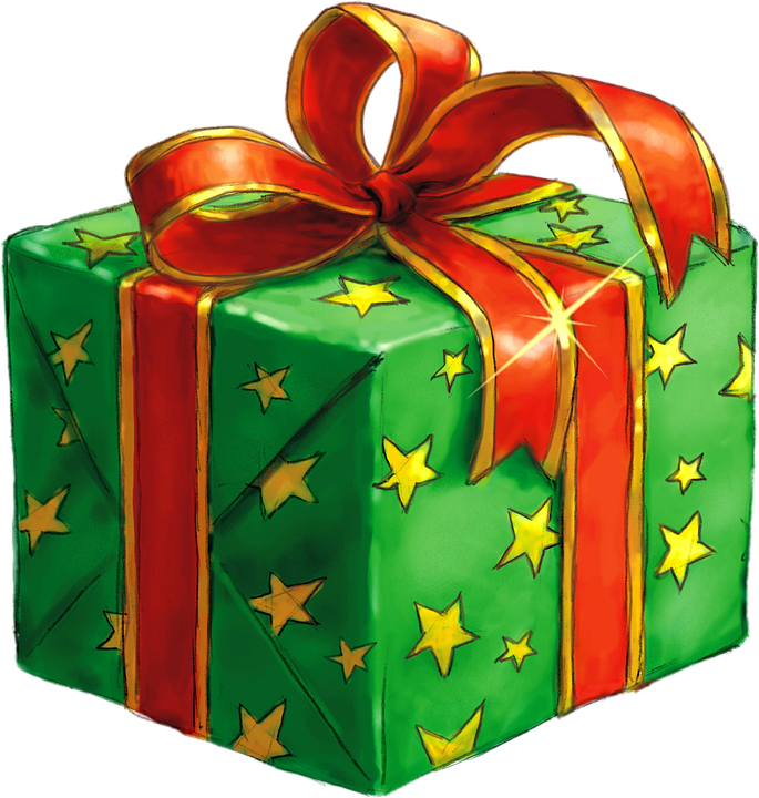 Drawing present gift wrap. Clipart wrapped graphics illustrations