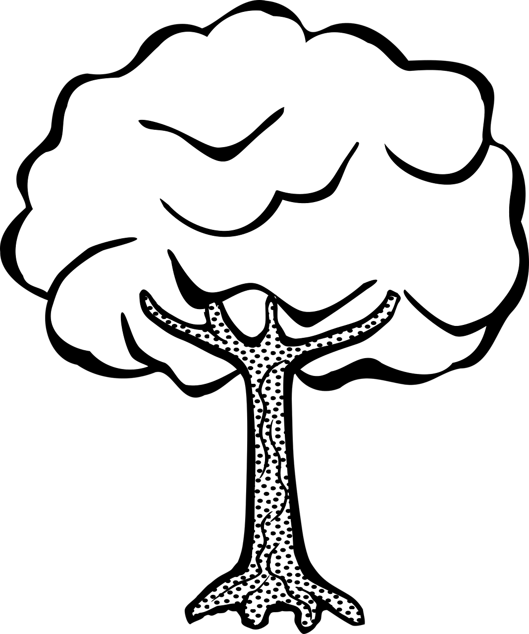 Drawing raindrops printable. Free tree coloring pages