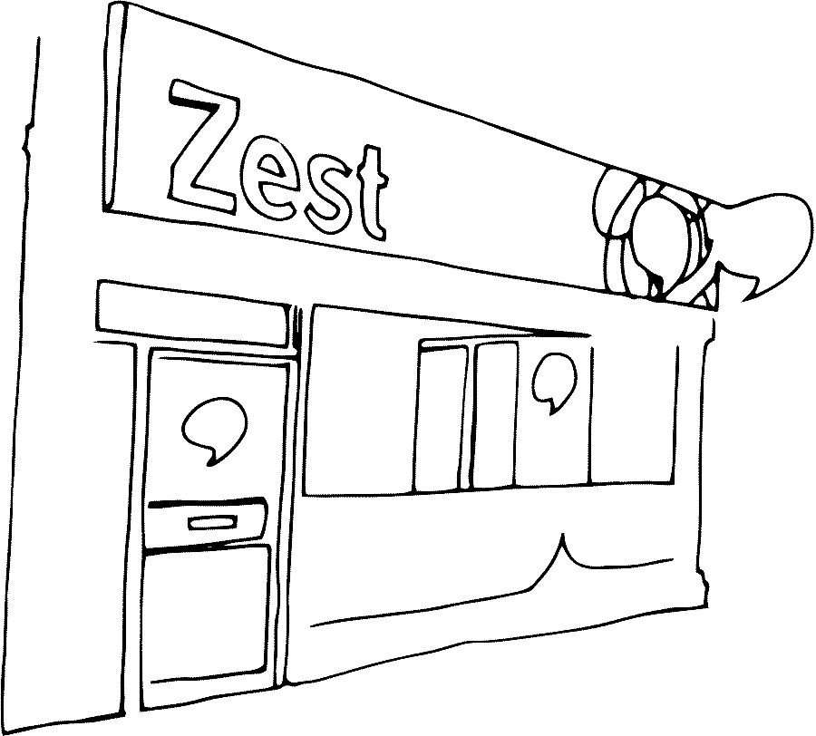 Drawing printing press. Print industry blog zest