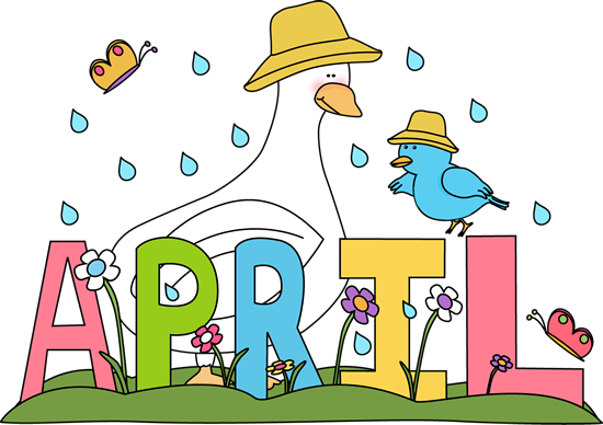 Drawing promps april. Free month clip art