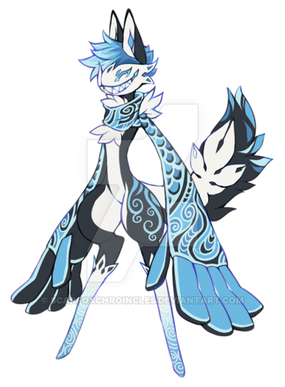 Icarus drawing creature. Scarfox by scarfoxchroincles good