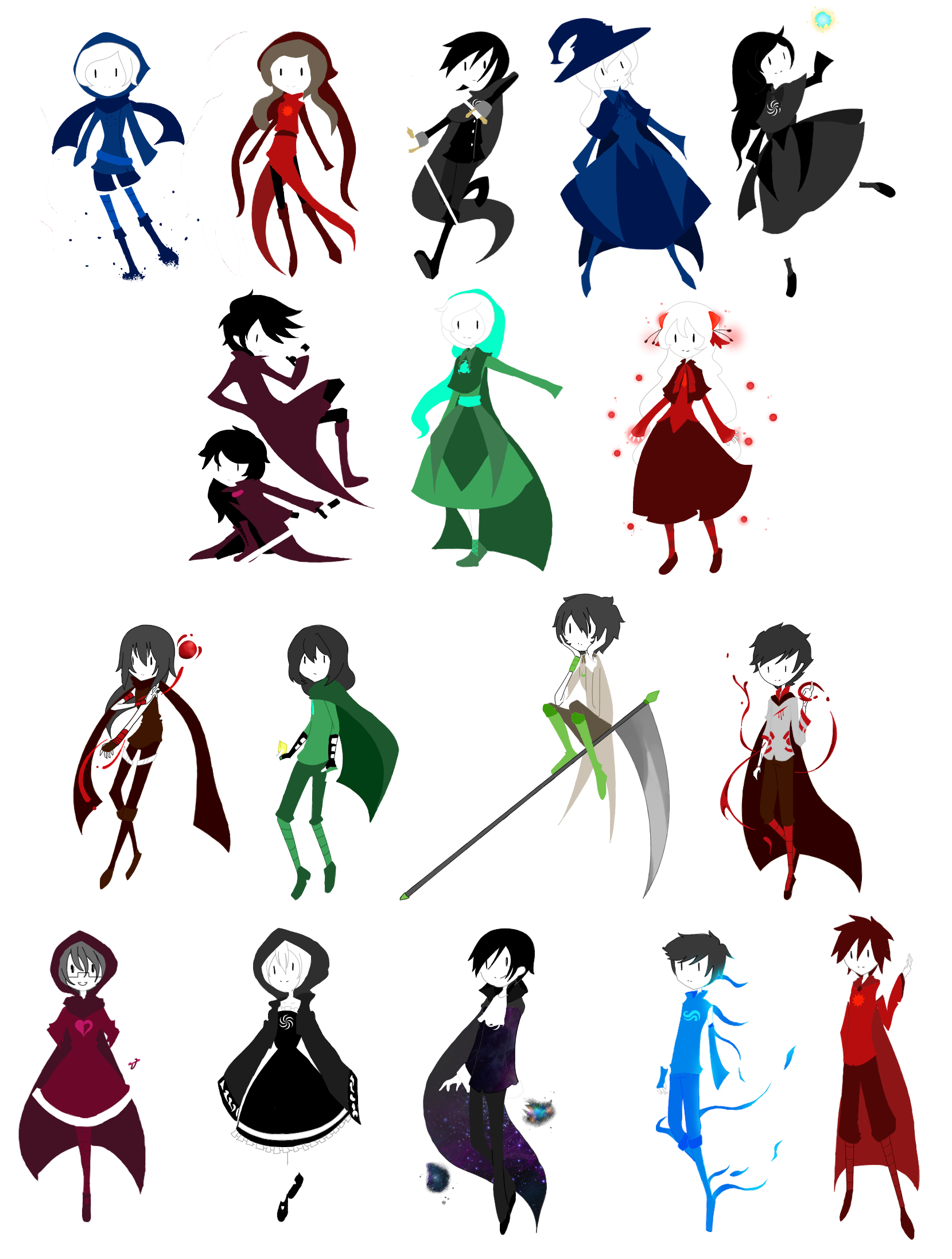Drawing promps homestuck. Oc fanmade god tier